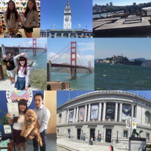 Emma代辦生放放遊學心得: 17歲小女生闖蕩舊金山(舊金山語言學校Brandon College)