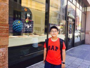 Nita: 波士頓暑假親子遊學心得分享,專業遊學代辦推薦Emma [波士頓語言學校TALK]