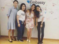 Embassy CES連鎖語言學校: 遊學美國, 加拿大, 英國,各校區地理位置方便,課外活動多,國籍比例多元化