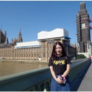倫敦遊學代辦推薦AceEmma:美女小學老師暑假倫敦遊學,英文進修之旅by Evelyn (英國倫敦St. Giles)