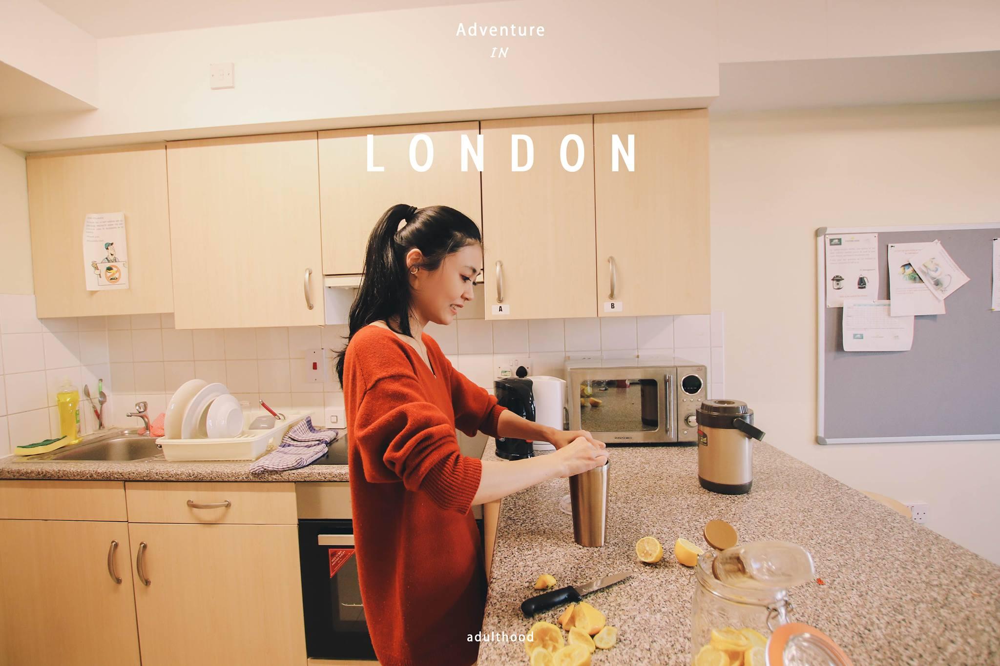 """英國倫敦遊學分享最棒的宿舍Piccadilly Court來自語言學校 Stafford House–部落客 """"盧小桃"""" 分享文"""