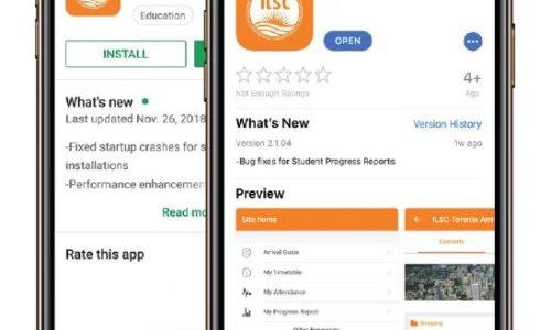 最新~~加拿大語言學校ILSC 提供手機app-my ILSC 囉~~~