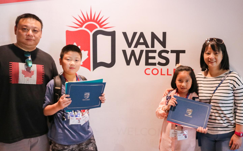 加拿大溫哥華親子遊學 Vanwest College 7-12歲&13-17青少年夏令營 (6/29-8/28/2020)